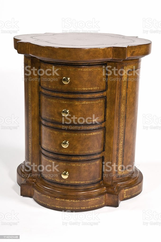 Antique chest royalty-free stock photo