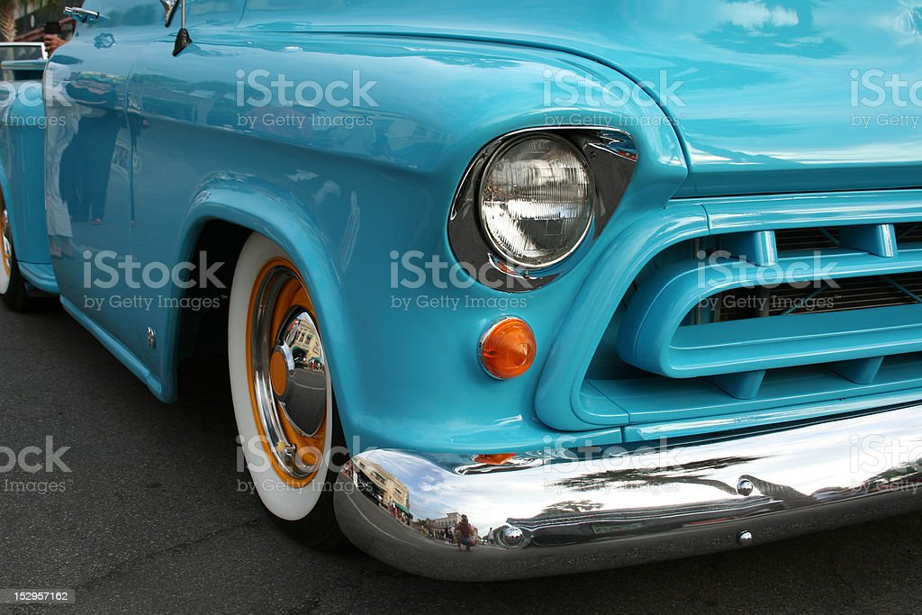 Antique Chevy Pickup Truck stock photo