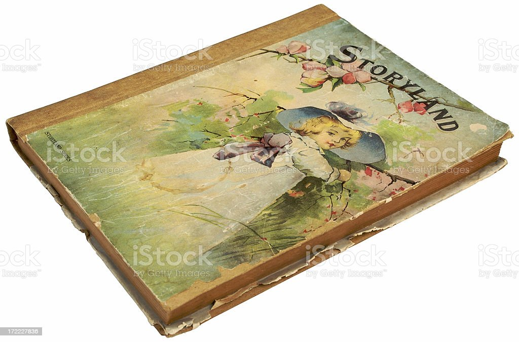 Antique Children's Story Book royalty-free stock photo