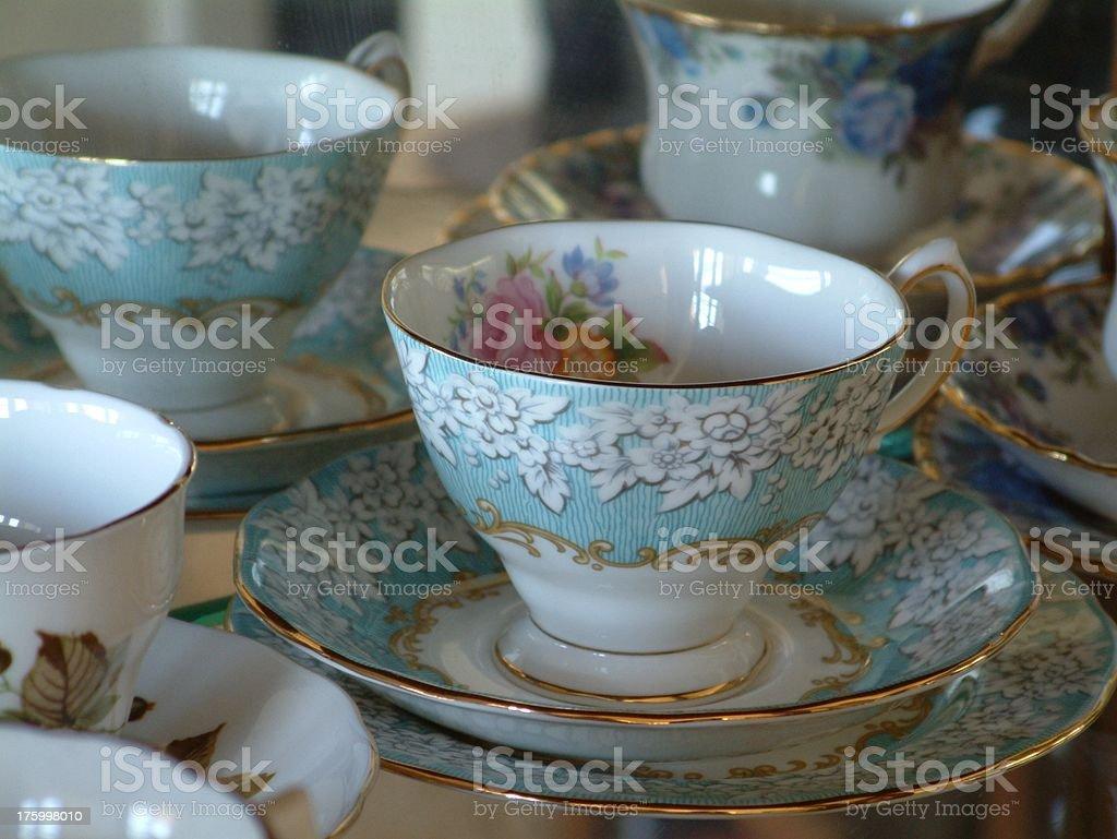 Antique China 2 royalty-free stock photo