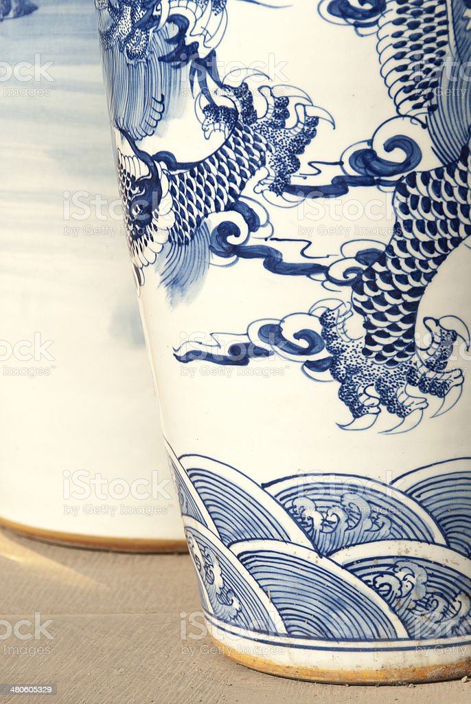 Antique China royalty-free stock photo
