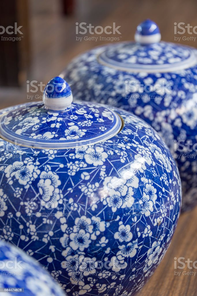 Antique china stock photo