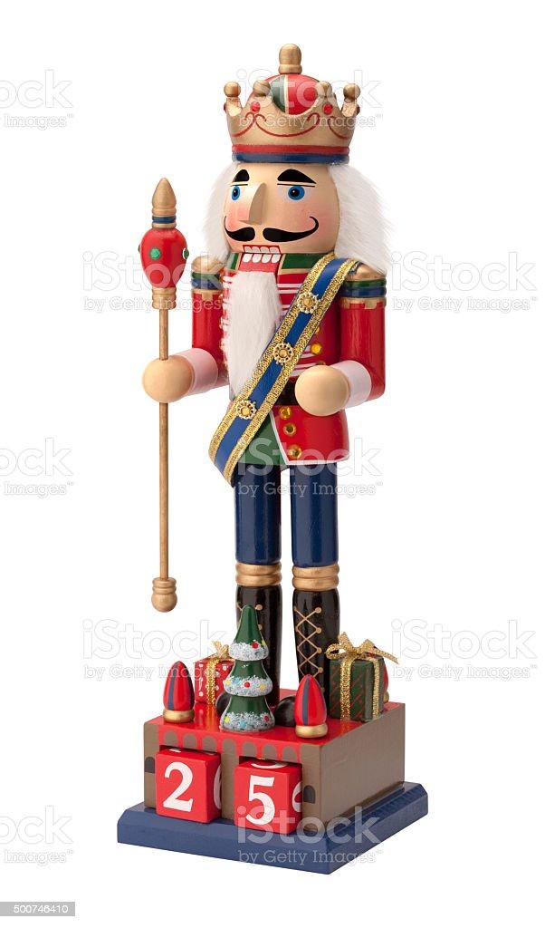 Antique Christmas Royal Nutcracker stock photo