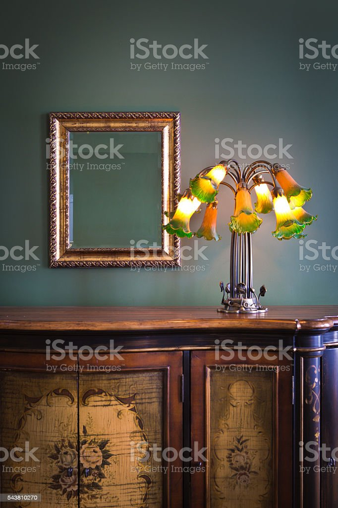 alte klassische einrichtung jugendstil beleuchtungskörper, Innedesign