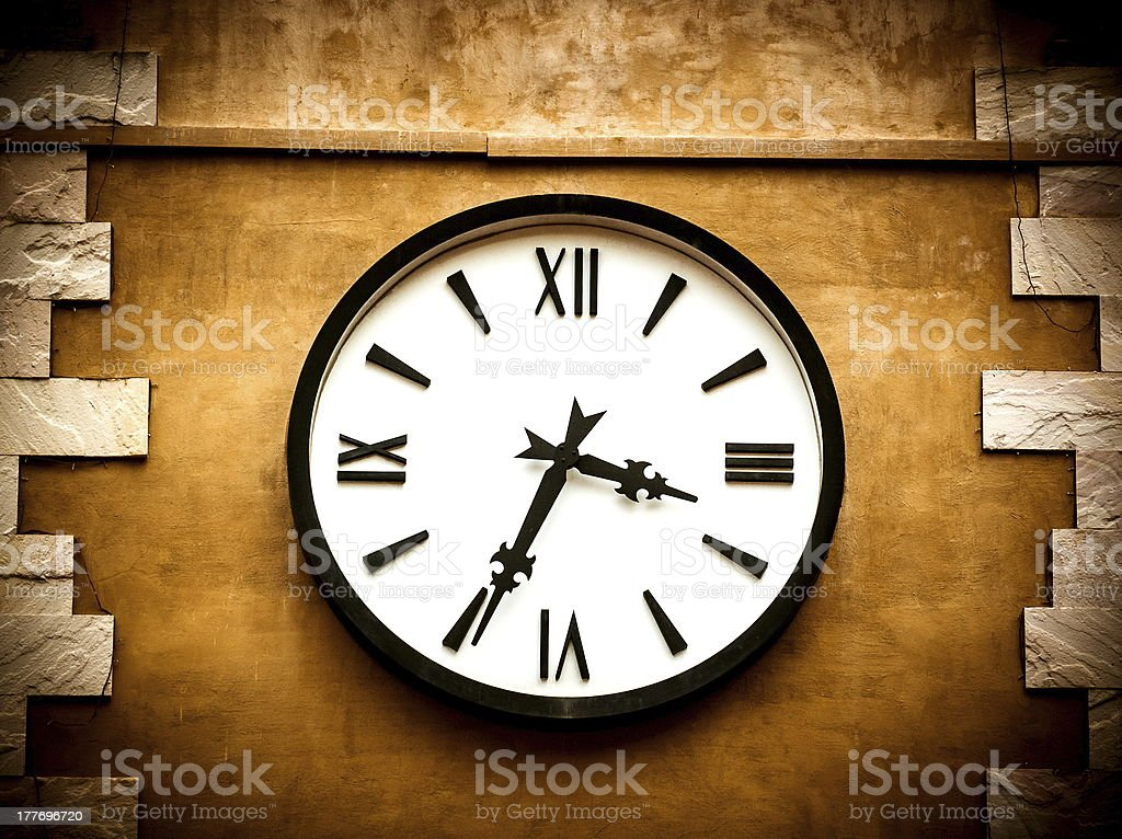 Antique clocks royalty-free stock photo
