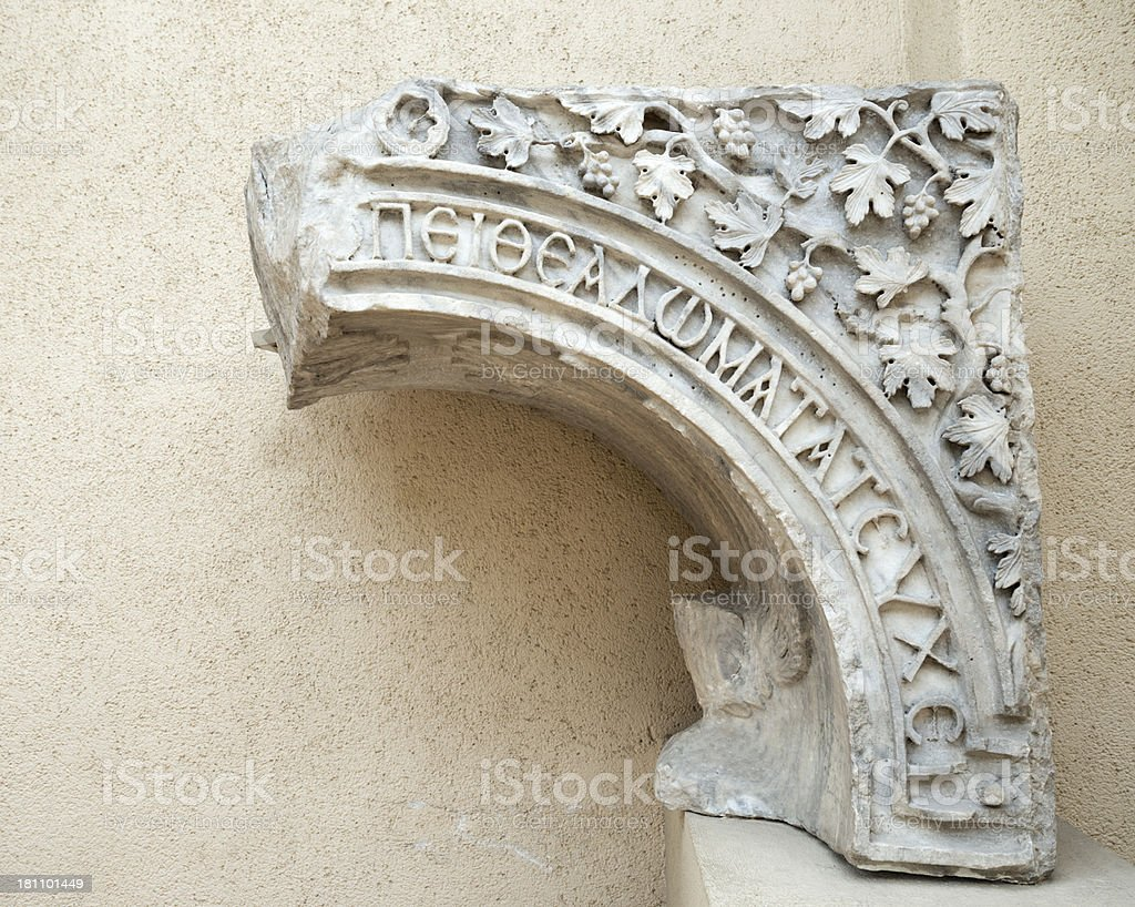 antique column royalty-free stock photo