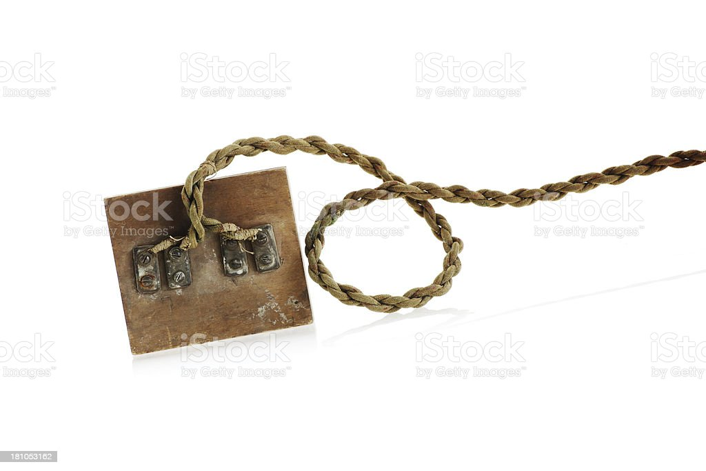 Antique Connector royalty-free stock photo