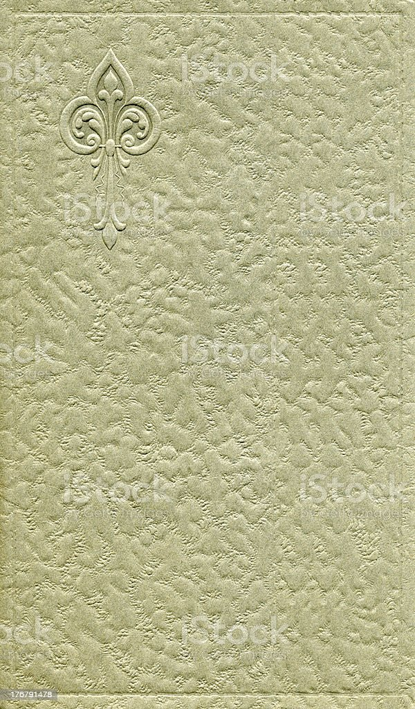 Antique cover design royalty-free stock photo