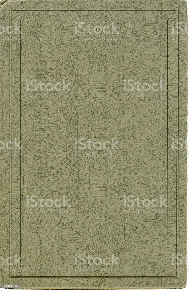 Antique cover stock from 1927 royalty-free stock photo