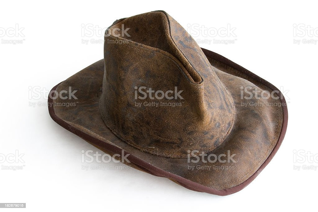 Antique Cowboy Hat Object royalty-free stock photo