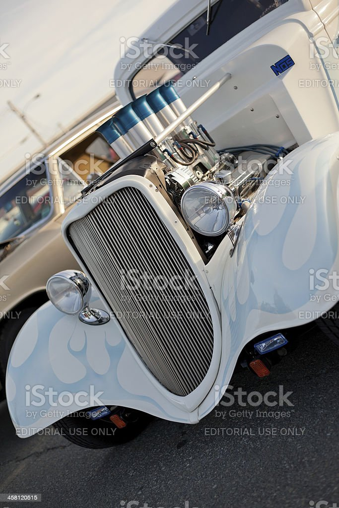 Antique Custom Hot Rod royalty-free stock photo
