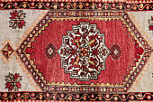 Antique decorative carpet