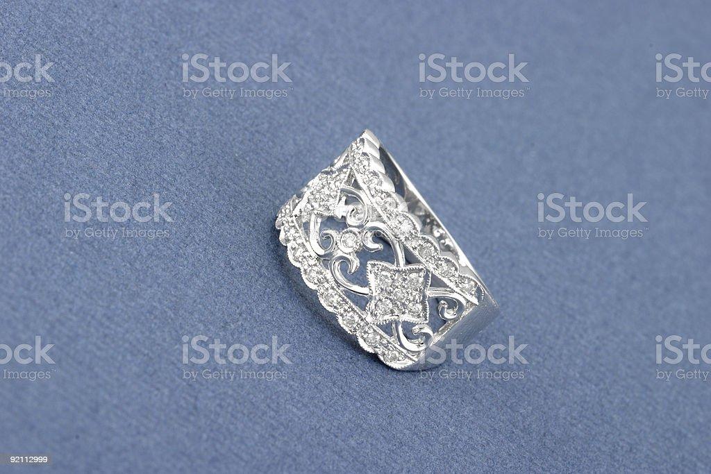 Antique Diamond Ring royalty-free stock photo