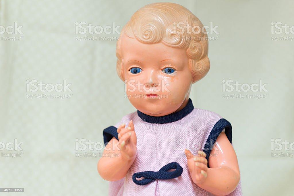 Antique Doll stock photo