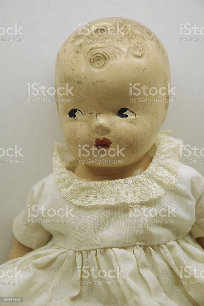 Antique Doll royalty-free stock photo