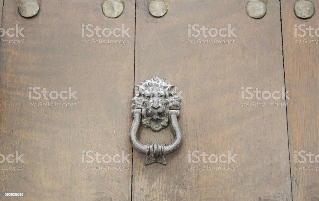 Antique Door Latch stock photo