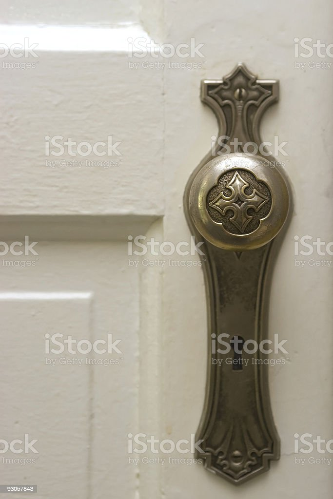 Antique Doorknob royalty-free stock photo