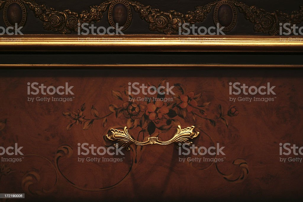 Antique Drawer royalty-free stock photo