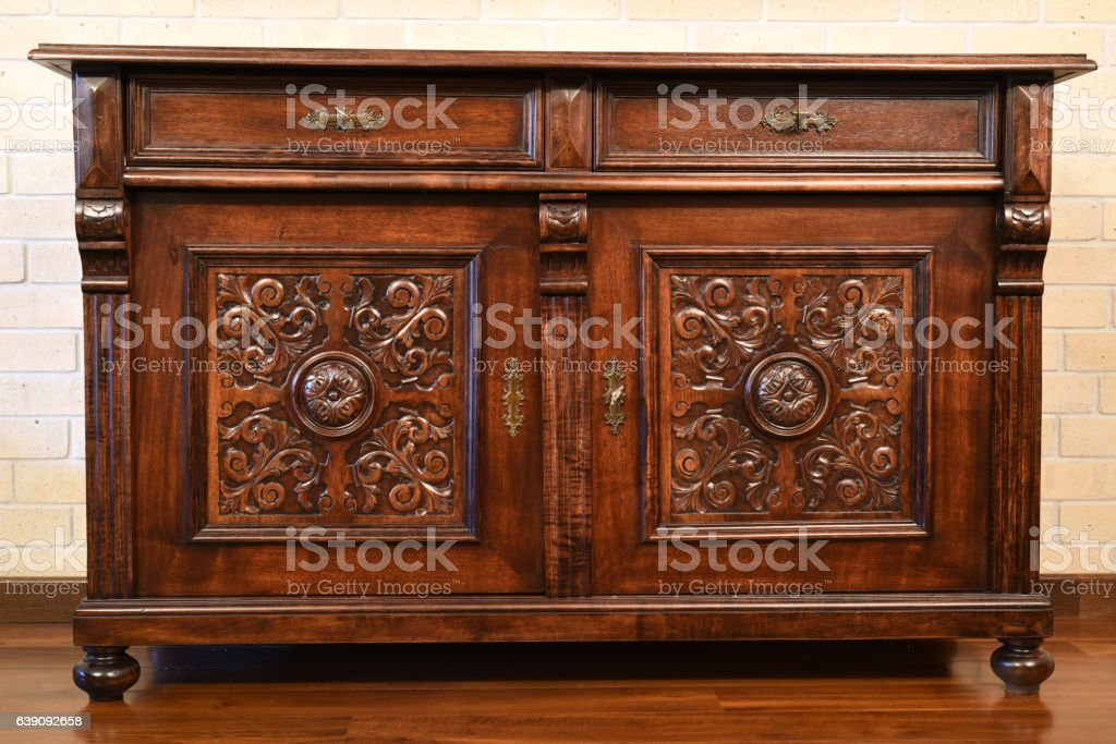 Antique Dresser stock photo