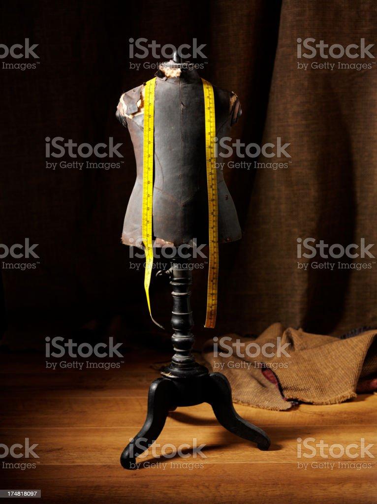 Antique Dressmakers Mannequin stock photo