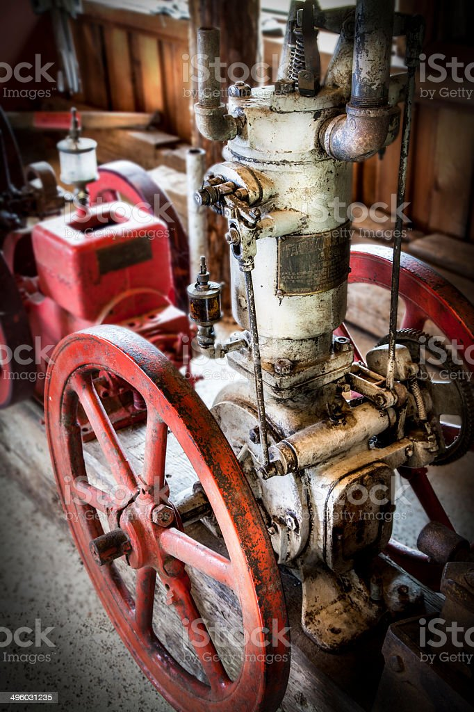 Antique Engine royalty-free stock photo