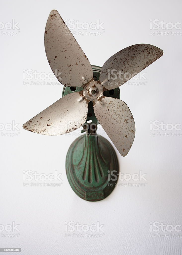 Antique fan royalty-free stock photo