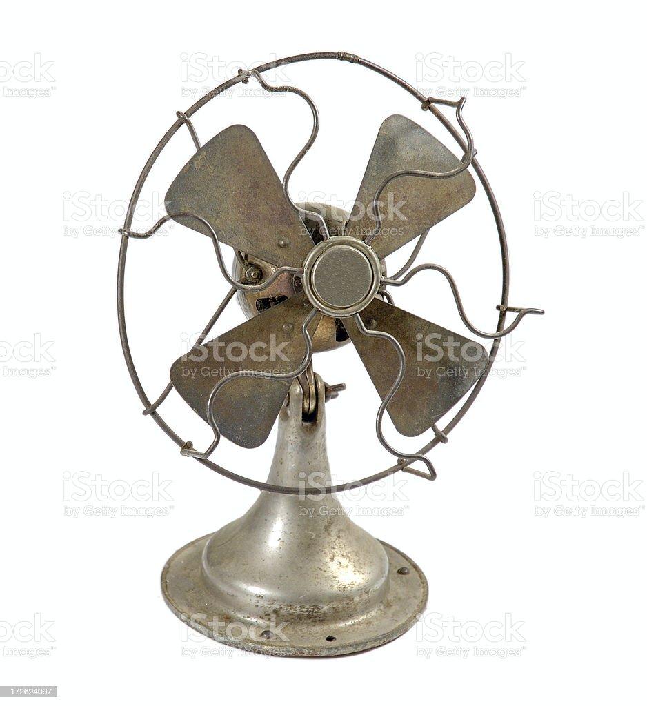 Antique Fan stock photo
