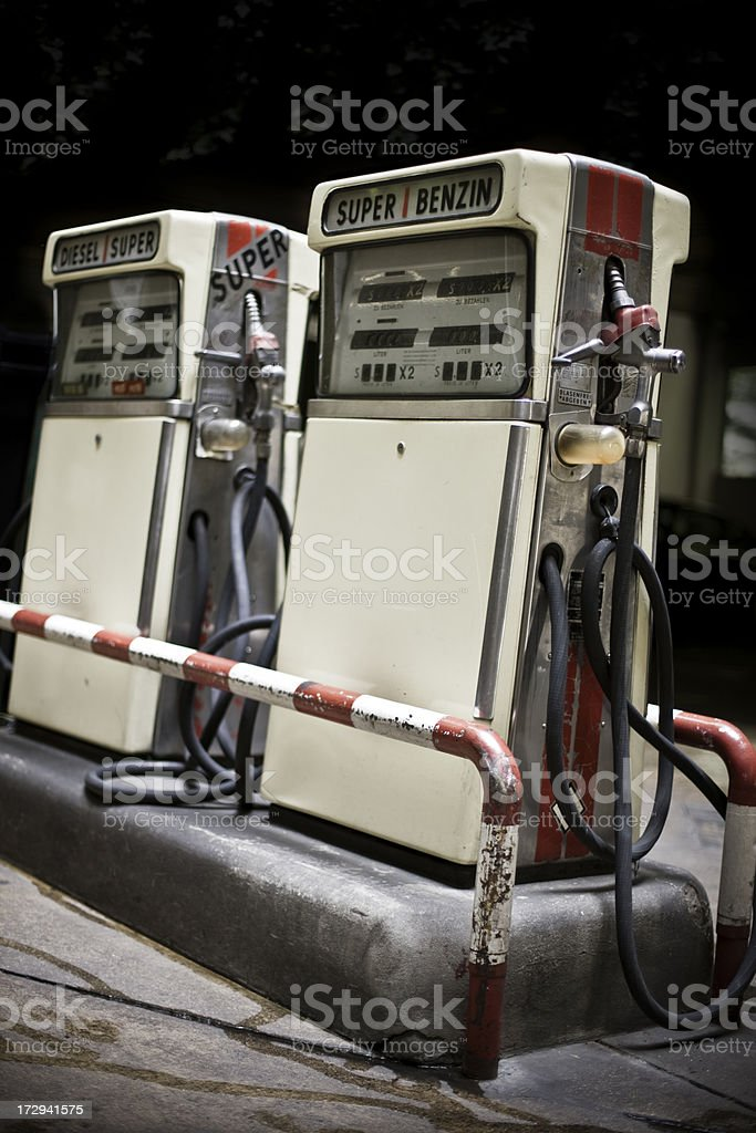 Antique Filling Pump royalty-free stock photo