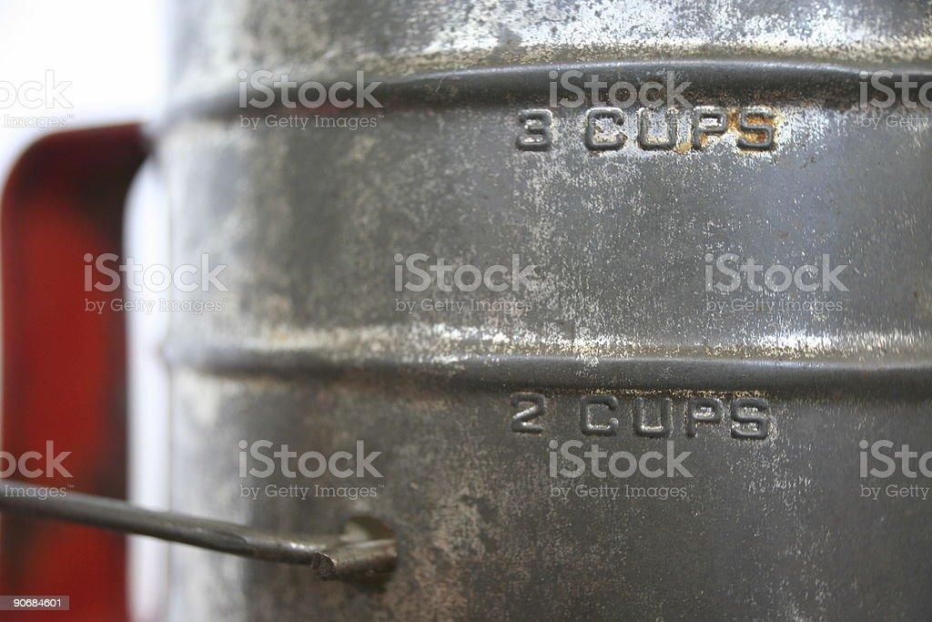 Antique Flour Sifter stock photo