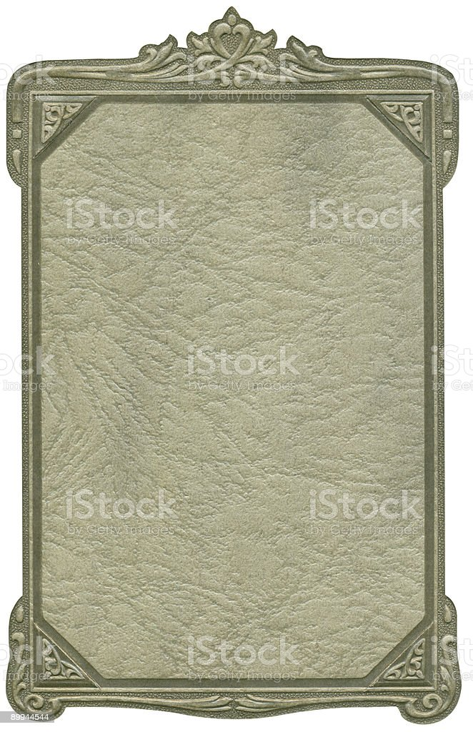 Antique frame and texture royalty-free stock photo