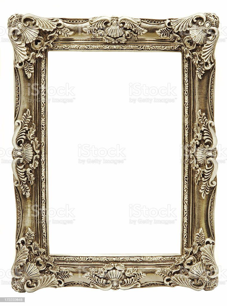Antique frame stock photo