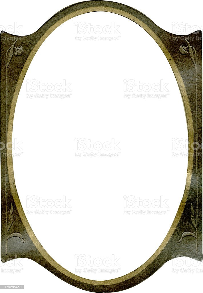 Antique frame royalty-free stock photo