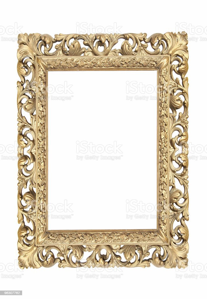 Antique Frame Portrait royalty-free stock photo