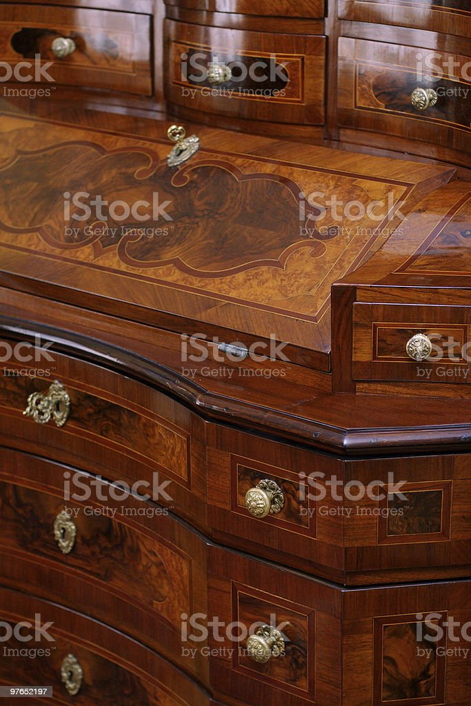 Antique furniture royalty-free stock photo
