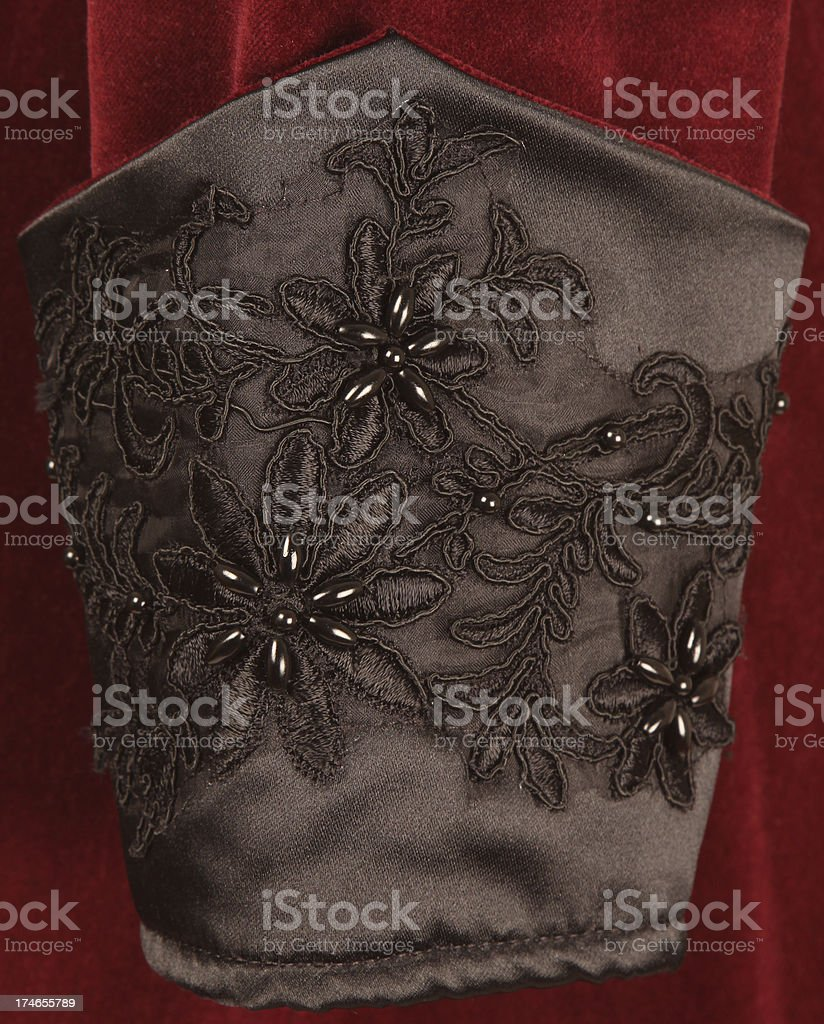 Antique Garment Detail royalty-free stock photo
