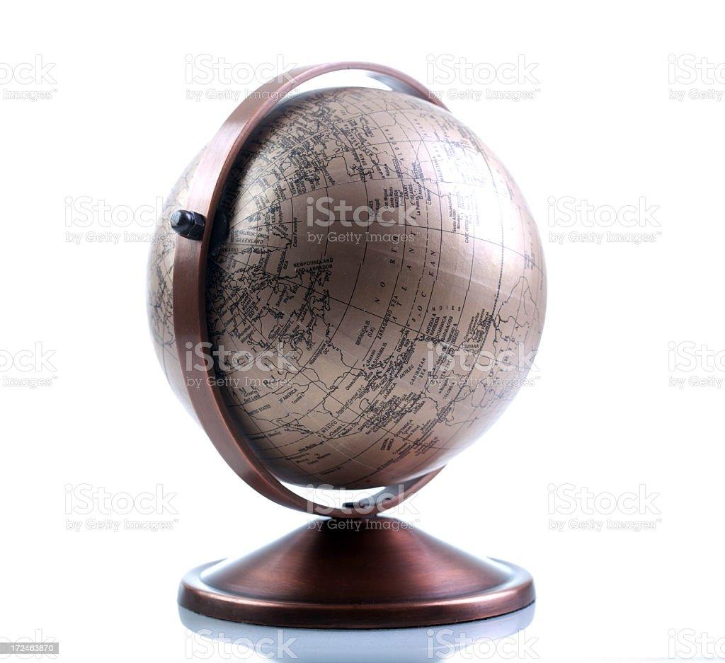 Antique Globe royalty-free stock photo