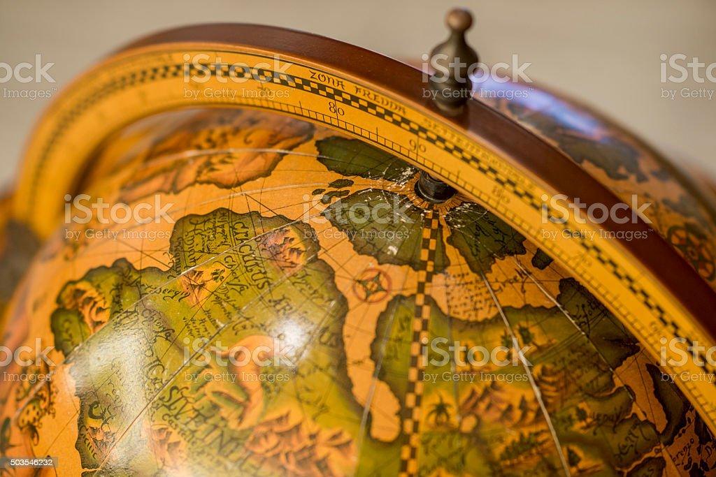 Antique Globes stock photo