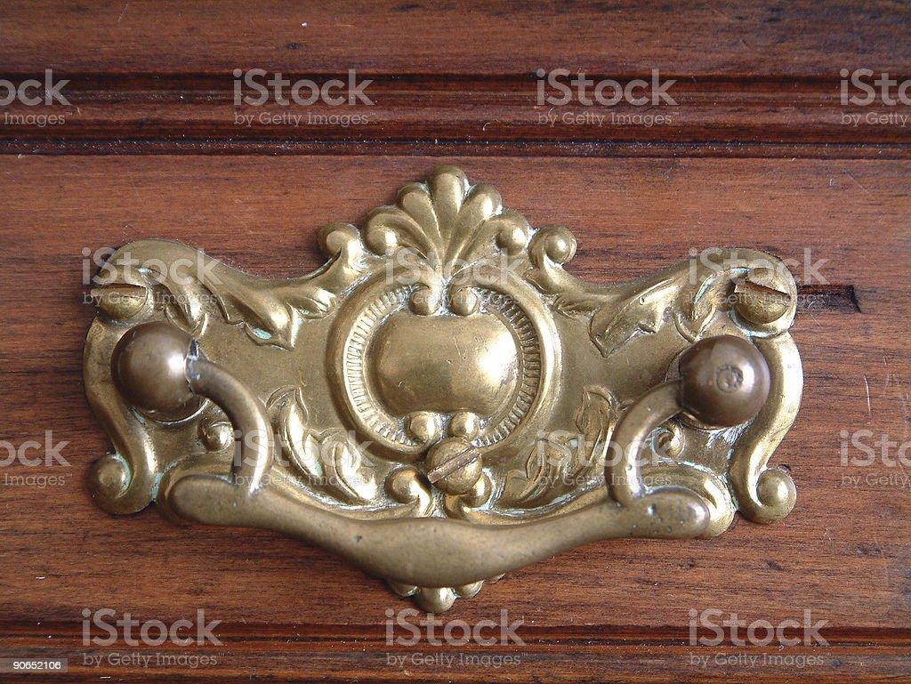 Antique Handle royalty-free stock photo