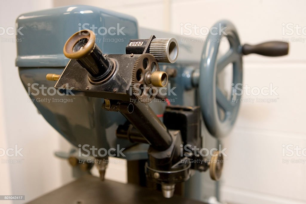 Antique Hardness Machine stock photo
