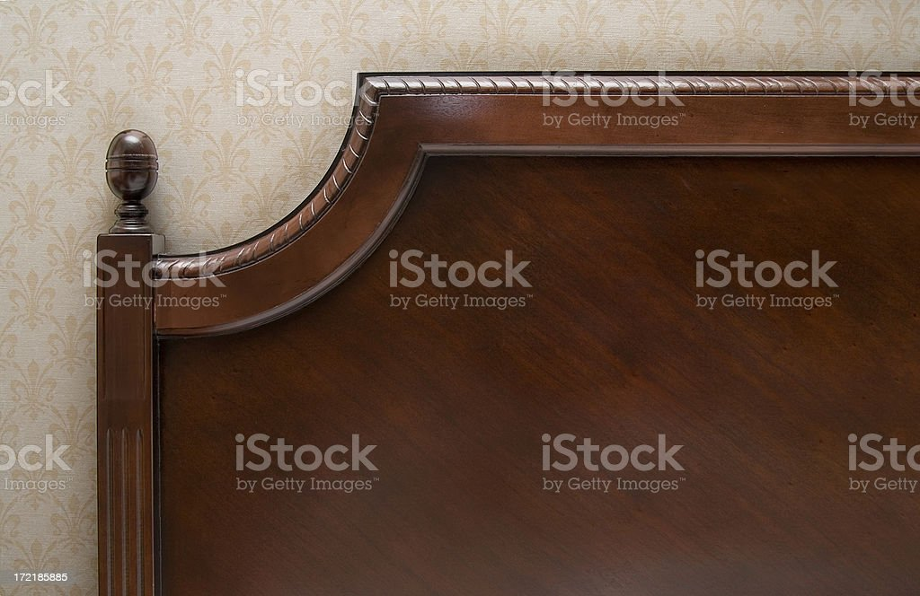 Antique Headbaord stock photo