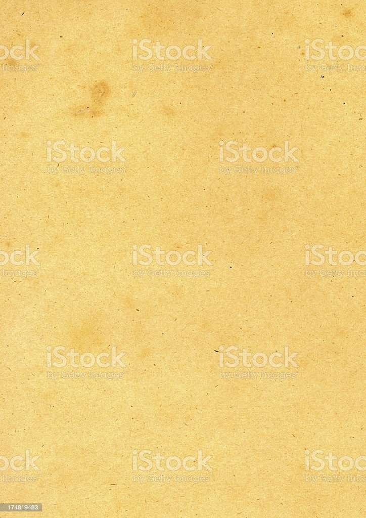 Antique heavy weight paper royalty-free stock photo