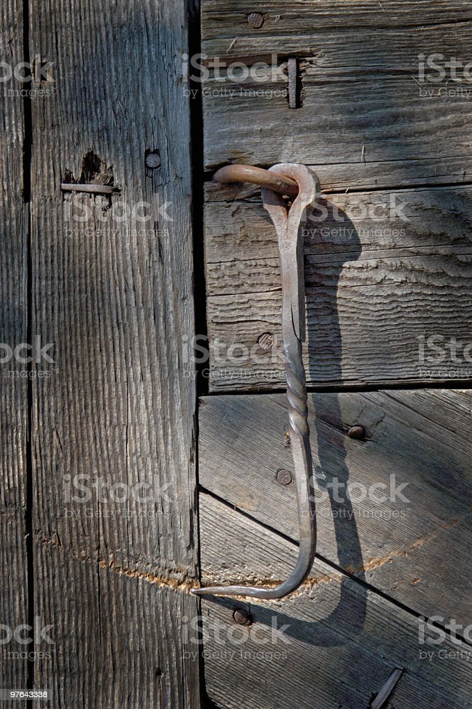 Antique Hook royalty-free stock photo