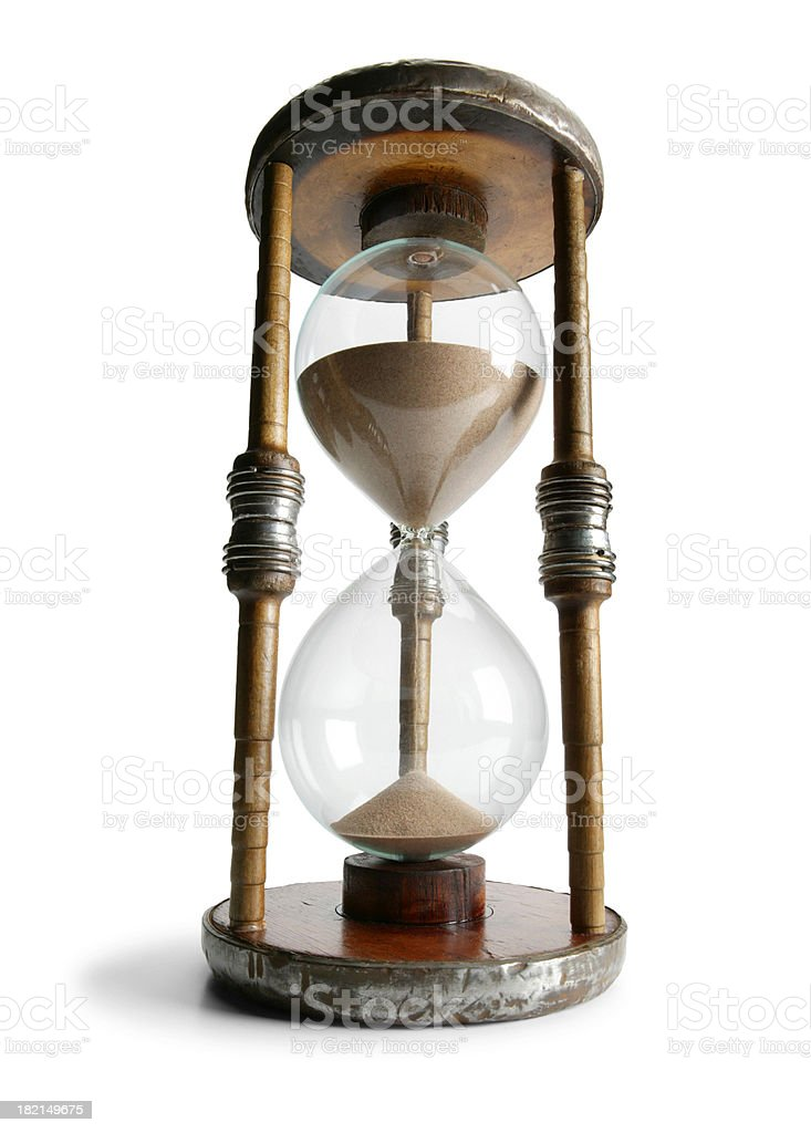 Antique Hourglass 1 royalty-free stock photo