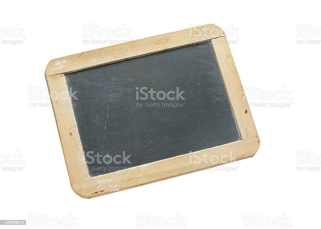 Antique Individual Chalkboard stock photo