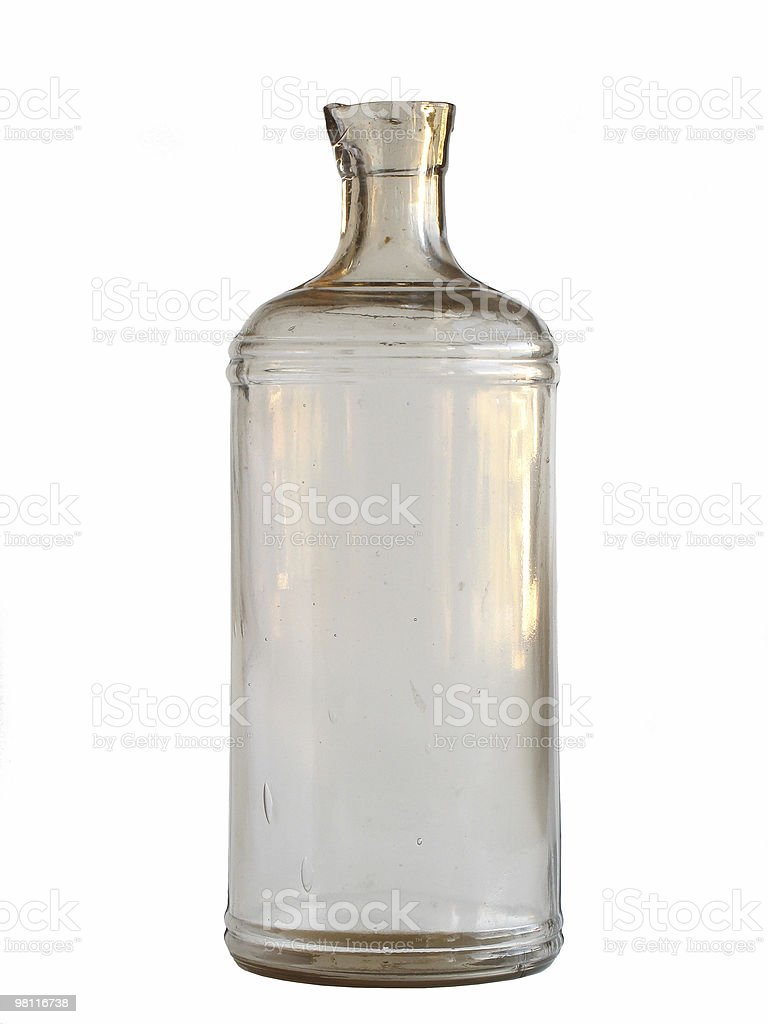 antique ink bottle royalty-free stock photo