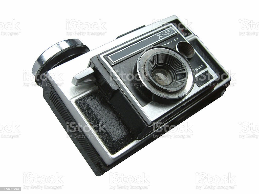 antique Instamatic royalty-free stock photo