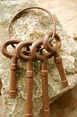 Antique Iron Keys