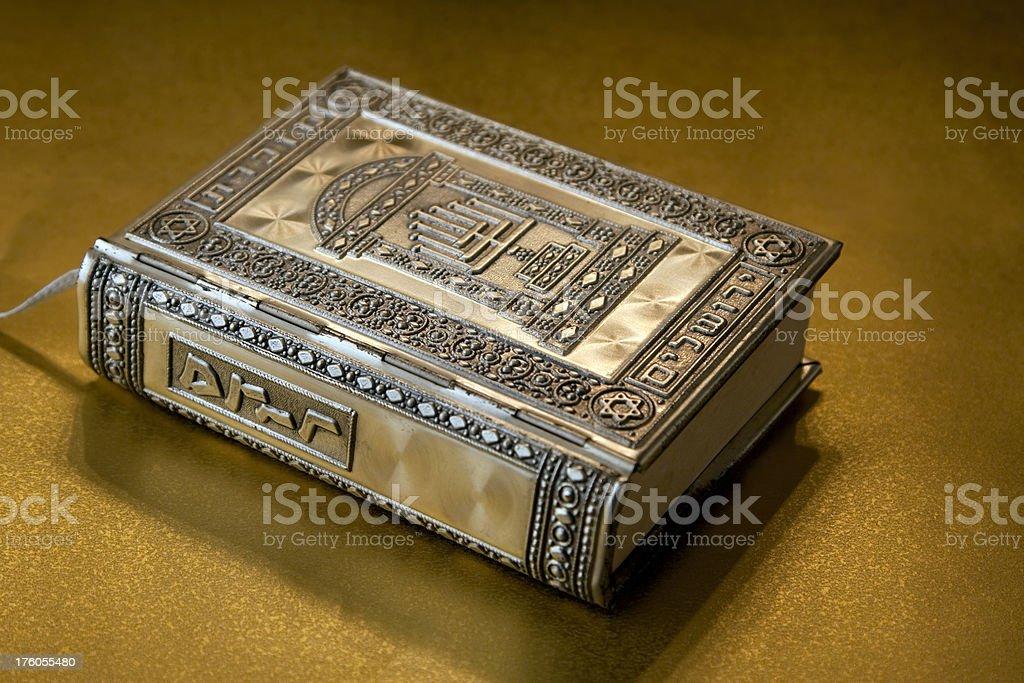 Antique Jewish prayer book royalty-free stock photo