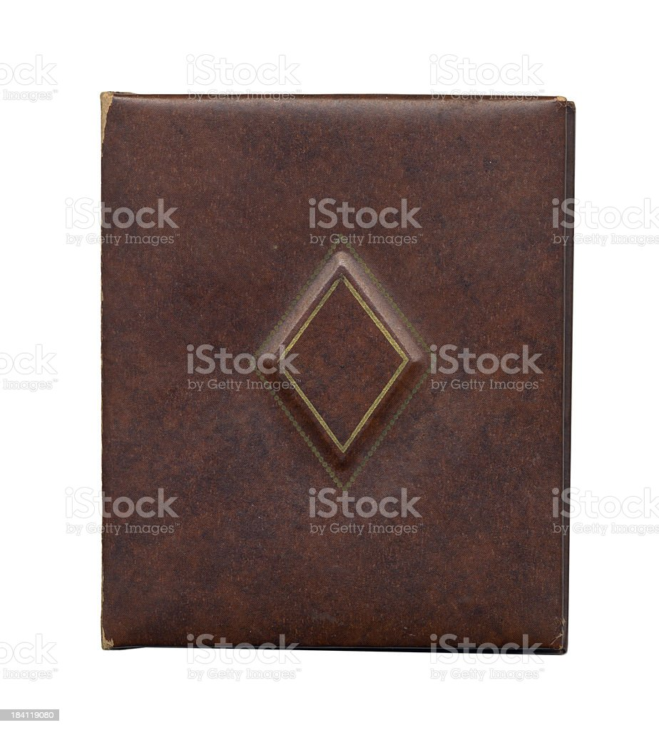 Antique Journal Cover (XL) royalty-free stock photo