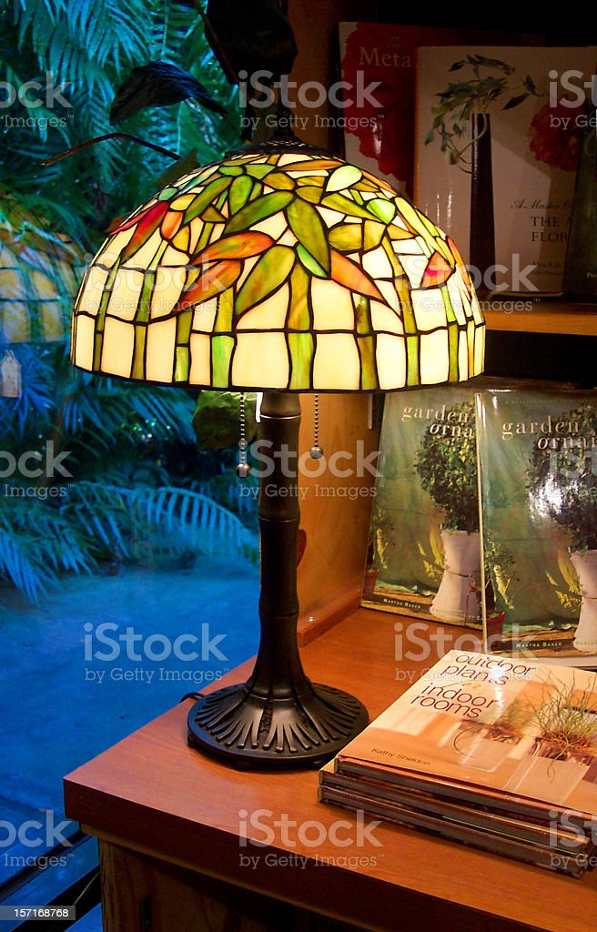 Antique Lamp stock photo